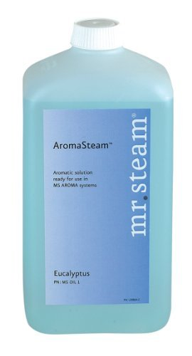 Mr. Steam Ms Oil4 Aromasteam Oils, 1-Liter (33 Oz.) For Aromasteam System Only, Energizing Mint by Mr. (Aromasteam System)