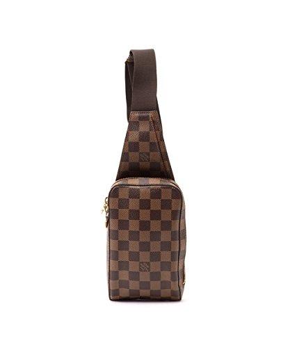 8c694485bd8e Authentic Women s Vintage Louis Vuitton Geronimos Brown Damier Ebene Bag   Amazon.ca  Clothing   Accessories