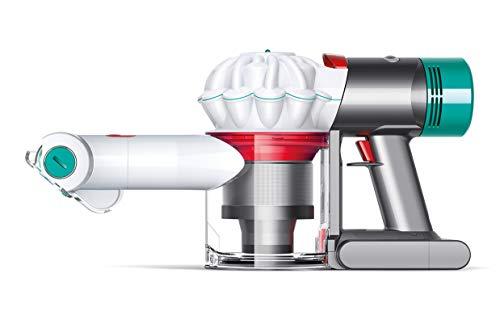Dyson V7 Mattress - Aspiradora (Secar, Ciclónico, Auto, Sin bolsa, Níquel, Rojo, Blanco, Batería)