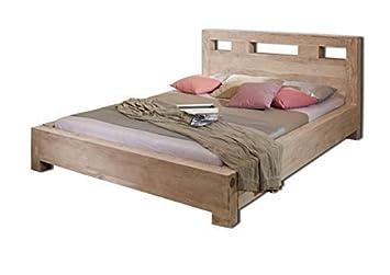 Massiv Akazie Holz Möbel Bett 160x200 Massivmöbel Holz Möbel