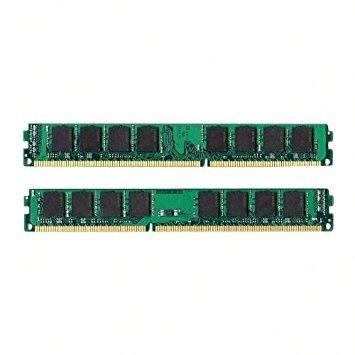 - NEW! 8GB 2 X 4GB DDR3 PC3-10600 LOW DENSITY PC10600 1333MHz DESKTOP MEMORY RAM
