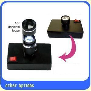 Ade Advanced Optics Desktop Led Light For Polariscopic Dark Field Loupe