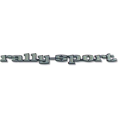 Eckler's Premier Quality Products 33-183158 Camaro Trim Parts Fender Emblem, Rally Sport