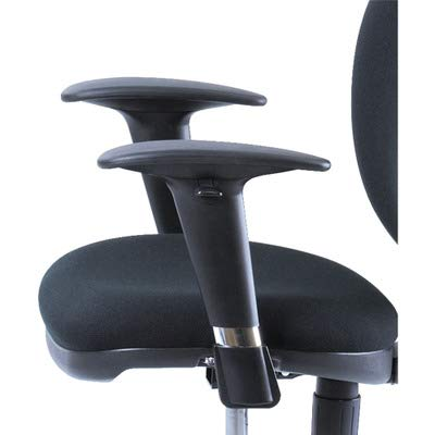 (SAF3495BL - Safco Adjustable T-Pad Arms for Metro Series Extended-Height Chairs )