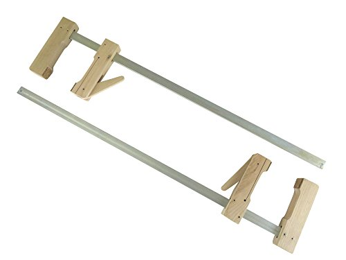 "2 each Pair Taytools 30-600 Wooden Wood Cam Action Clamps 23-1/2"" Opening by 4-1/4"" Depth European Beech by Taytools"