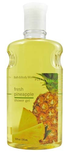 Silk Coconut Body Wash - Bath & Body Works Fresh Pineapple Shower Gel 10 oz