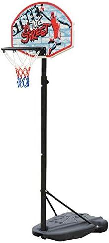 屋内バスケットボールラック 屋内ホーム子供ポータブルバスケットボールフレーム屋外取り外し可能なリフティングバスケットボールラック スタンディングバスケットボールセット (Color : Black, Size : 1.40-1.90m)
