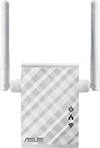 ASUS RP-N12 - Repetidor/Punto acceso inalámbrico N300 (Antenas externas, WPS,...