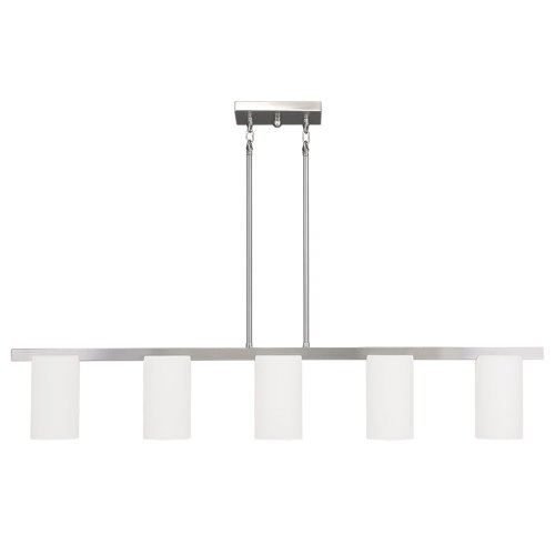 Livex Lighting 1327-91 Astoria 5-Light Chandelier, Brushed Nickel