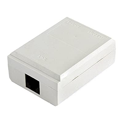 DealMux 1-2 RJ11 Porto Telefone Telefone Line Switcher Modem ADSL Splitter