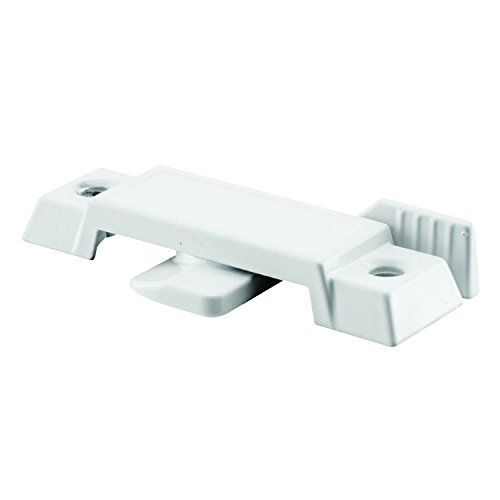 Prime-Line Products F 2592 Sash Lock, Diecast Construction, White, Used on Vertical & Horizontal Sliding (Sash Replacement Windows)