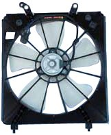 TYC 600710 Honda Accord Replacement Radiator Cooling Fan Assembly Cl Radiator Fan Assembly