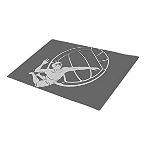 wyd-a deporte personalizada puerta alfombrillas en blanco talla única de voleibol de playa