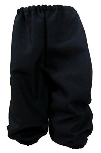 1236 (Sm 6-8, Black) Child Knickers (Black Knickers Boys)