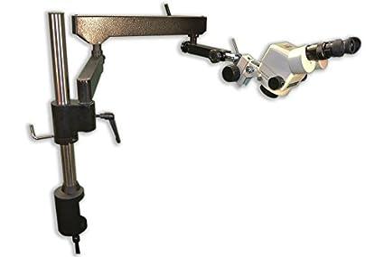 0.7X Articulating Heavy Duty Stand Focus Block 4.5X Zoom Range Eyepiece MEIJI TECHNO AMERICA Meiji EMZ-5+MA502+FSC+SAS-4 Binocular Zoom Stereo Body