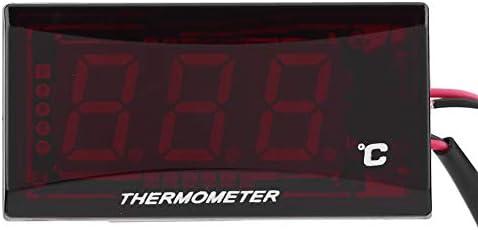 Fydun Motorrad Digital Thermometer Wassertemperaturanzeige Meter f/ür Racing Roller Rote Hintergrundbeleuchtung Motorrads Wassertemperaturz/ähler