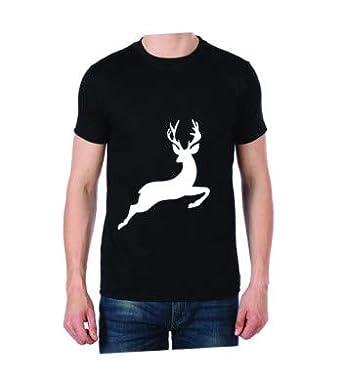 fbc7e6f9b Dear Jump (Front Print) Black Color Round Neck Unisex T-Shirt (Small