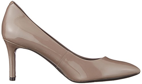 Pointy Pearl Chiusa Toe taupe Rockport 75mm Punta Tacchi Pump Beige Grey Donna Total Motion Patent A zBwBt6