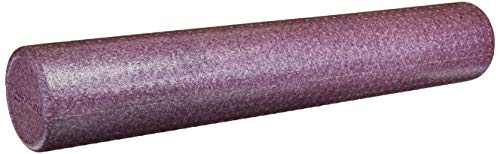 AmazonBasics High-Density Round Foam Roller | 36-inches, Purple