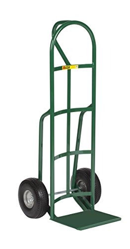 Little Giant T-240-10FF Reinforced Nose Plate Hand Truck with Loop Handle, 600 lb Capacity, 12