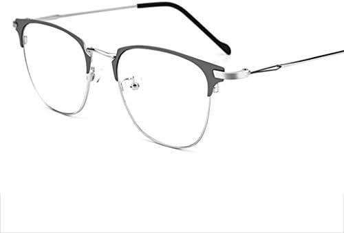 老眼鏡4色超クリアビジョン長方形レンズ合金フレームミニマリズムの1つのペア