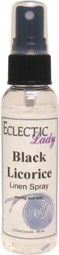 Black Licorice Linen Spray, 16 ounces