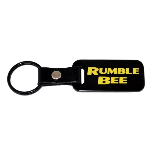 - Dodge HEMI 1500 Ram Rumble Bee Satin Black Key Chain - USA Quality