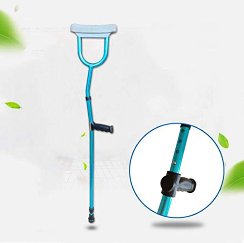 Underarm Crutch,Collapsible Adjustable Cane for Men Women Balancing Mobility Aid Drive Medical Aluminum Crutch,Ergonomic Freedom Editioncanes - Crutch Adjustable Underarm Aluminum