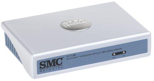 (SMCHP1D-USB EZ Connect 14 Mbps Powerline to USB Desktop Adapter)