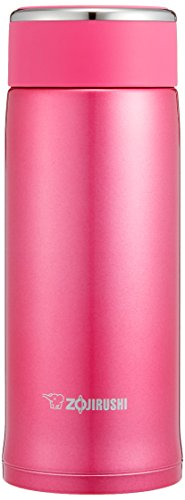 Floral Collection Pink Mug - Zojirushi SM-LB36PM Stainless Steel Mug, 12-Ounce, Floral Pink