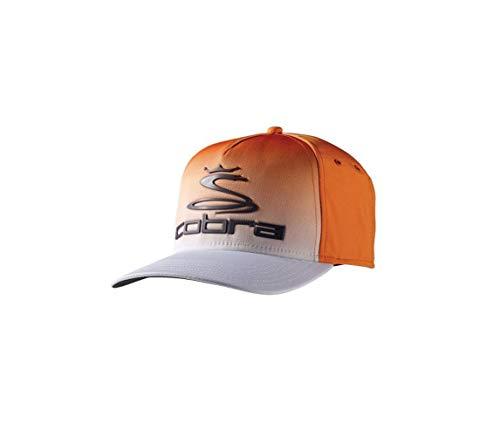 2bf56e41d29 Cobra Golf 2017 TOUR FADE Hat ORG L XL (Vibrant Orange White