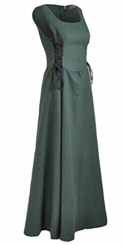 Masquerade Steampunk s Victorian Gothic Women Green Renaissance Dresses Jaycargogo wYxOgft