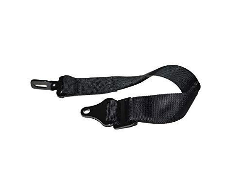 - Pair Of Usa Made 29 Inch Long 4 Ply Black Suspension Limiting Straps With 9/16 Bolt Holes 10000 Pound Webbing