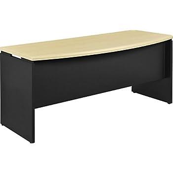 Altra Benjamin Executive Desk, Natural/Gray - Color: Natural - Style Name: Executive Desk