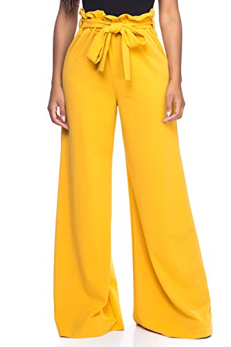 - Women's J2 Love Paperbag Wide Leg Pants, Small, Must