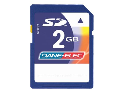 Dane-Elec 2GB Secure Digital Memory Card