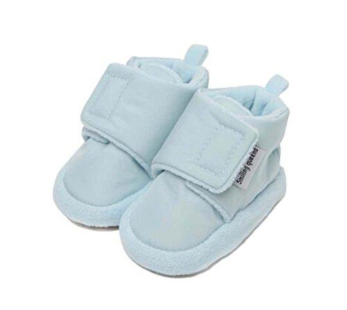 2PCS weicher Baumwolle Herbst und Winter Schuhe Stoffschuhe Kleinkinder Schuhe blau