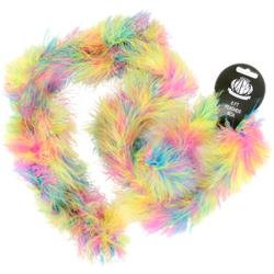 Bulk Buy: Zucker (3-Pack) Marabou Feather Boa Multicolor Medium Weight 72in. Hot Mix (Buy Feather Boa)