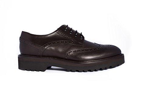 Alberto Guardiani scarpa allinglese da uomo mod Soho in pelle marrone