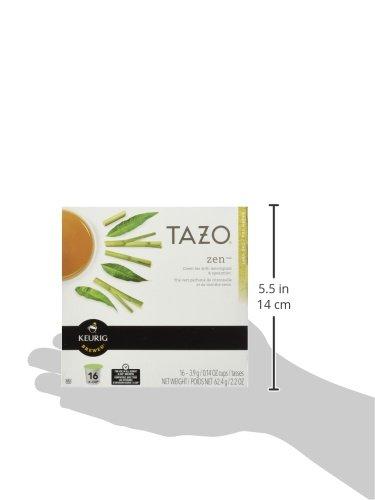 Keurig Tazo Zen Tea 32-Count K-Cups for Keurig Brewers by Starbucks (Image #4)
