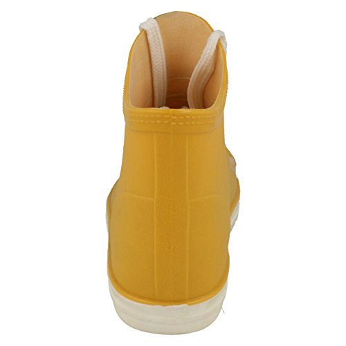 Ankle Style Orange Ladies Boots On Spot Baseball Wellie F4357 qaTwHUgx