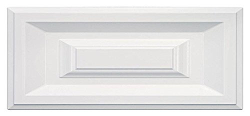Cabinet Doors 'N' More 16'' X 5 3/4'' White RTF Raised Square Kitchen Cabinet Drawer Front by Cabinet Doors 'N' More