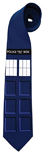 elope Doctor Who TARDIS Neck Tie (Halloween Costumes Dr Who)