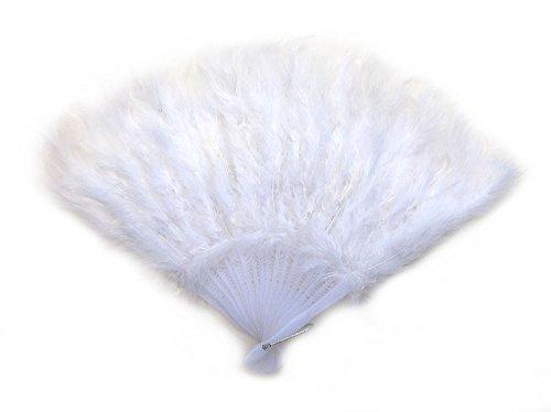 hand feather fan - 1