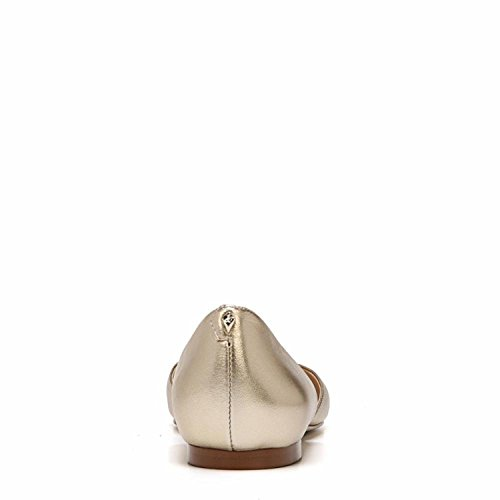 Sam Edelman Women's Rodney Ballet Flat Molten Gold Grainy Foiled Metallic Leather outlet exclusive lowest price online cheap extremely KqlLh