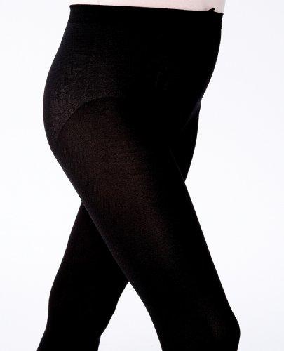Danskin Big Girls' Ultrasoft Convertible Backseam Tight,Black,L (12/14) - Danskin Nylon Leggings