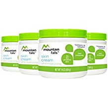 Mountain Falls Skin Cream, Ultra Moisturizing for Dry, Sensitive Skin, Non Irritating, Compare to Cetaphil, 16 Ounce (Pack of 4)