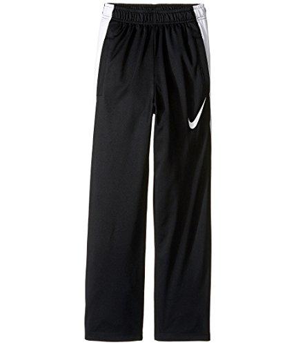 (Nike Boys' Dry Performance Knit Pants, Black White, Medium )