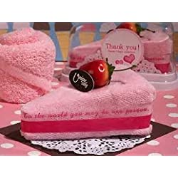 Towel Cake Strawberry Cake, Favor