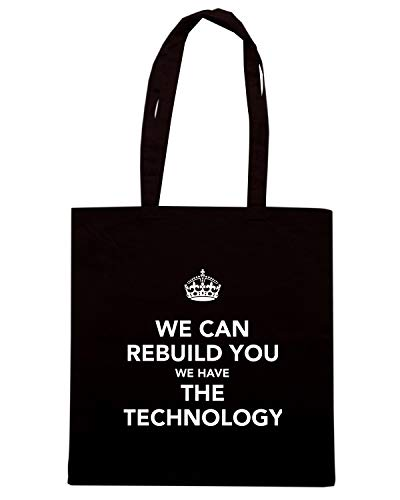 WE WE TECHNOLOGY YOU REBUILD AND Borsa Nera HAVE KEEP Shirt CAN THE TKC4168 Speed Shopper CALM 87qRZ8wP
